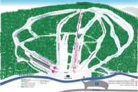 Granite Gorge Piste Map