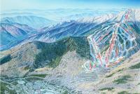 Waterville Valley Piste Map