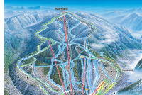 Wildcat Mountain Mapa tras