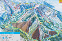 Taos Ski Valley Mapa tras