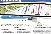 Brantling Ski Slopes Piste Map