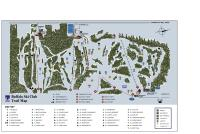 Buffalo Ski Club Ski Area Mappa piste