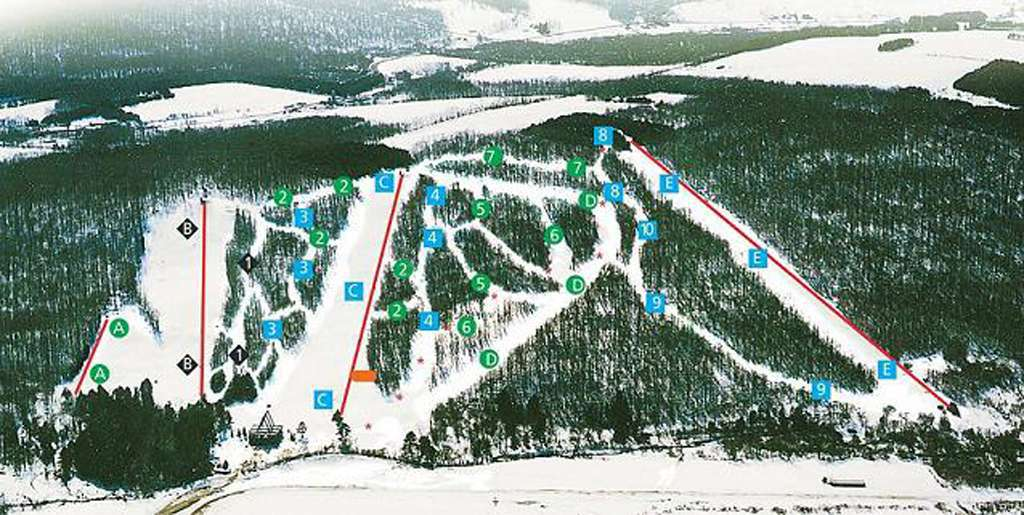 Plan out your day before heading to Cockaigne Ski Area or navigate the