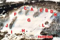 Dry Hill Ski Area Piste Map
