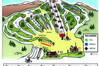 Oak Mountain Piste Map