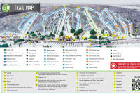Peek'n Peak Piste Map