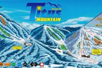 Titus Mountain Mapa tras