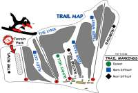 Tuxedo Ridge at Sterling Forest Trail Map