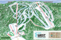 West Mountain Mappa piste