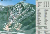 Whiteface Mountain Resort Mapa zjazdoviek