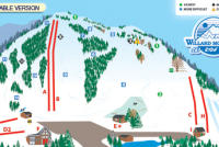 Willard Mountain Piste Map