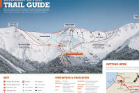 Broken River Ski Area Mapa tras