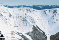 Craigieburn Valley Ski Area Plan des pistes