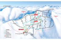 Mt. Cheeseman Ski Resort Mapa tras
