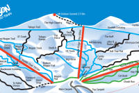Mt. Dobson Ski Area Piste Map