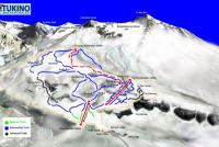 Tukino Mountain Clubs Association Piste Map