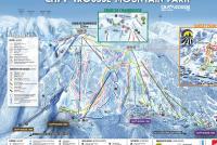 Chamrousse Mapa zjazdoviek