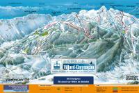 Corrençon en Vercors Piste Map