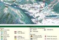 Le Sappey en Chartreuse Mappa piste