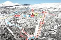 Målselv Piste Map