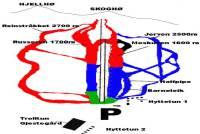Dombås Trail Map
