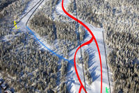 Drammen Trail Map