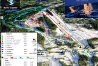 Hurdal Skisenter Piste Map