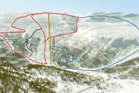 Lemonsjøen Jotunheimen Piste Map