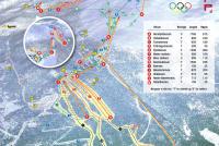 Norefjell Mapa tras