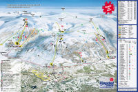 Oppdal Trail Map