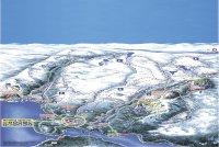 Rauland Alpinsenter/Skisenter Mapa zjazdoviek
