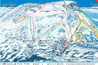 Skeikampen Piste Map