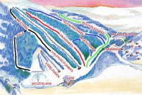 Svarstad Trail Map