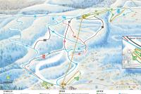 Vrådal Piste Map