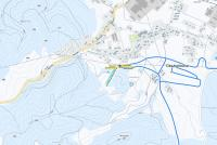 Dlouhoňovice Piste Map