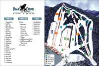 Bear Creek Mountain Resort Plan des pistes