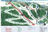 Eagle Rock Piste Map