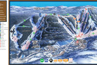 Hidden Valley Resort Mapa tras