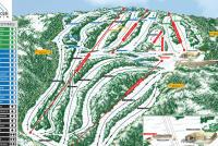 Montage Mountain Plan des pistes