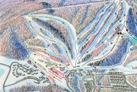 Whitetail Resort Piste Map