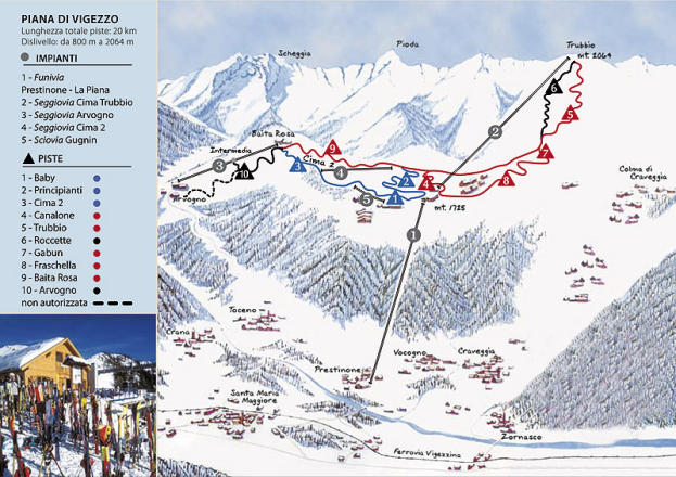 Valle Vigezzo Trail Map
