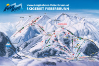Fieberbrunn Trail Map