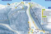 Koninki Piste Map