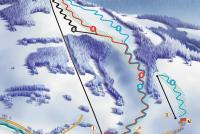 Maciejowa ski Piste Map