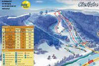 Wisła - Cieńków Trail Map