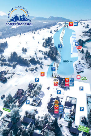 Witów Trail Map