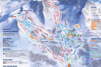 Gourette Piste Map