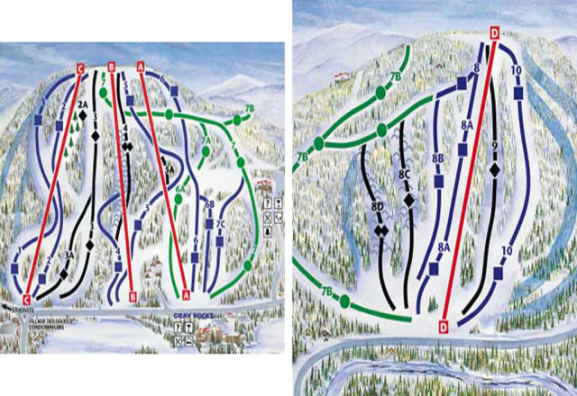 Piste Map