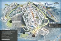 Ski Bromont Trail Map