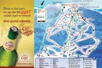 Poiana Brasov Mapa zjazdoviek